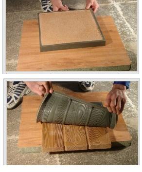 Деревянная плитка своими руками