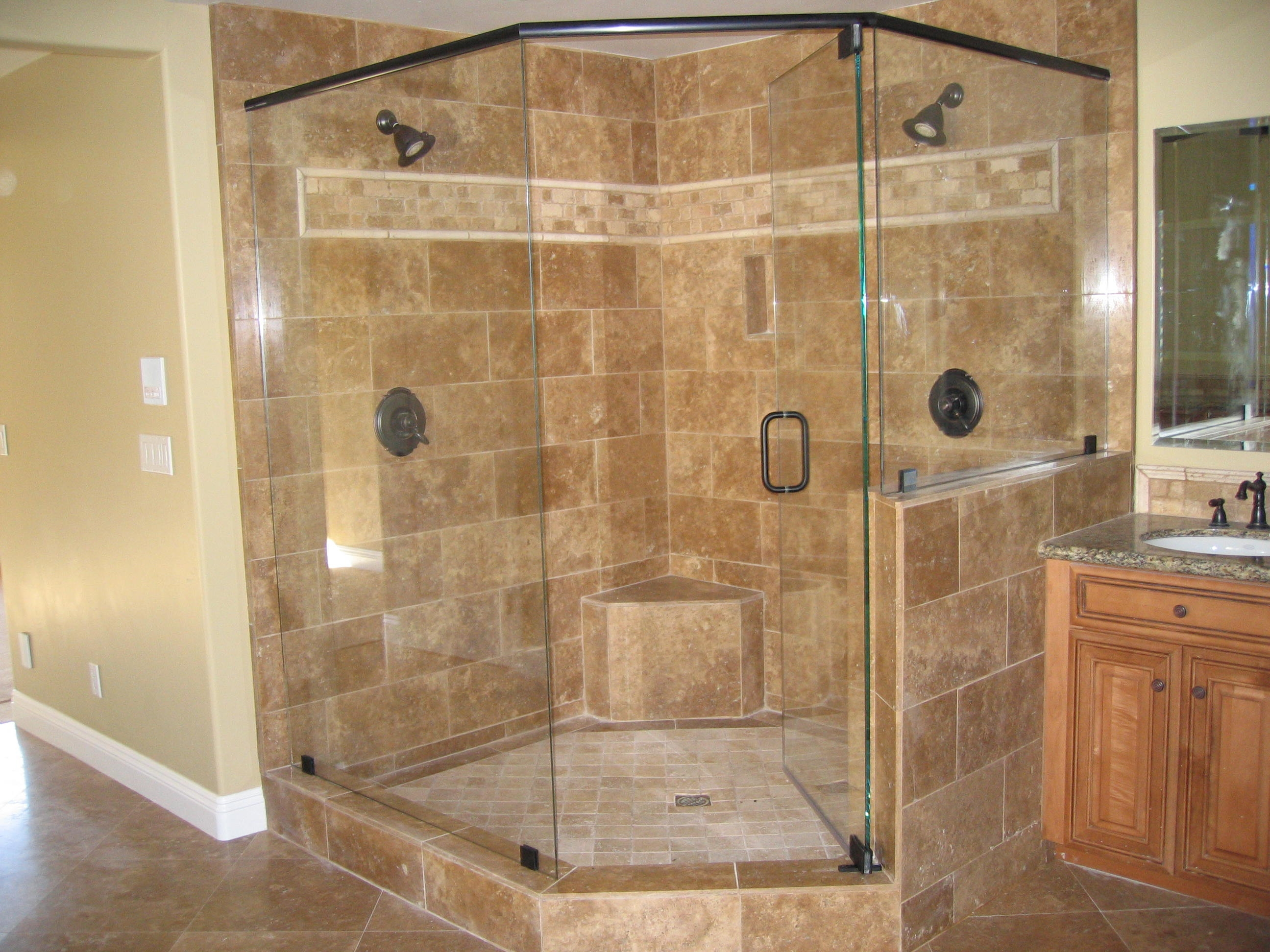 frameless-glass-shower-doors-corner-front-door-basement.jpg