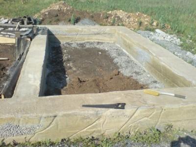 Фундамент под баню 3х3 своими руками фото 979