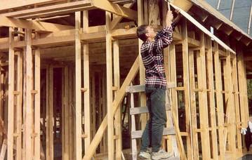 Этапы строительство дома своими руками от и до