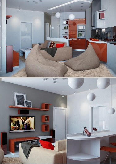 Составить дизайн квартиры