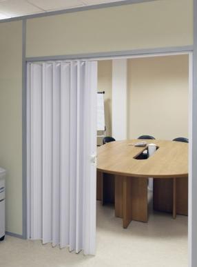 Раздвижные межкомнатные двери-гармошка: фото и