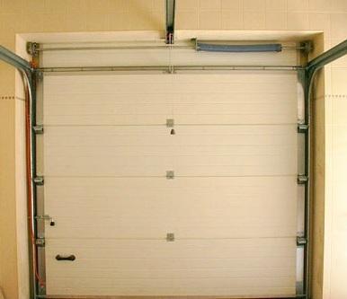 Подъемно поворотные ворота в гараж своими руками