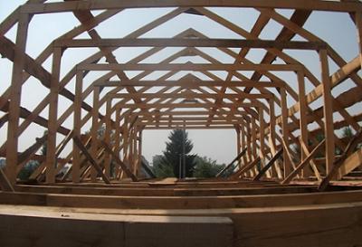 Крыша дома своими руками фото и схема