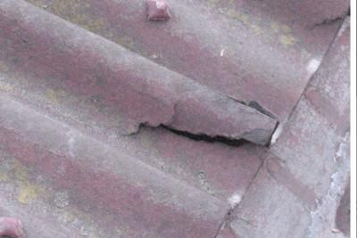 Печальный результат хождения по ондулиновой крыше